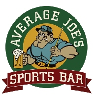 Average Joes Sports Bar Merchandise Store Custom Shirts & Apparel